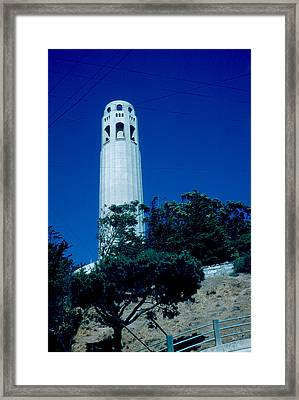 Coit Tower 1955 Framed Print by Cumberland Warden