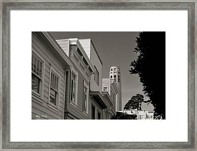 Coit Tower Framed Print by Alex King