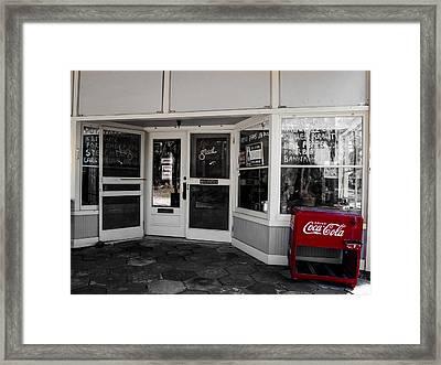 Coke Framed Print