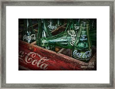 Coke Return For Deposit Framed Print by Paul Ward
