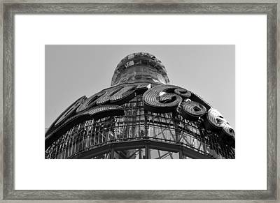 Coca Cola Building Framed Print by David Lee Thompson