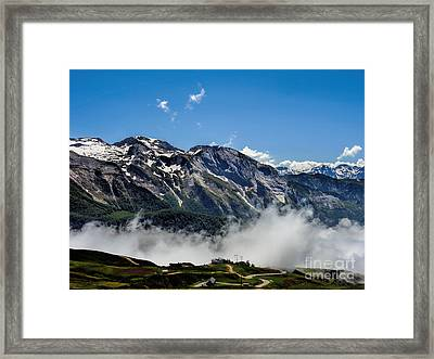 Col D Aubisque France - 03 Framed Print by Graham Taylor