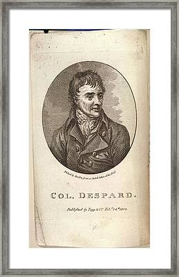Col. Despard Framed Print by British Library
