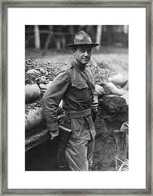 Col. William Hayward Framed Print