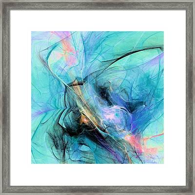 Cold Framed Print by Anastasiya Malakhova