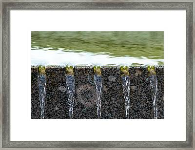 Cold And Clear Water - Featured 3 Framed Print by Alexander Senin