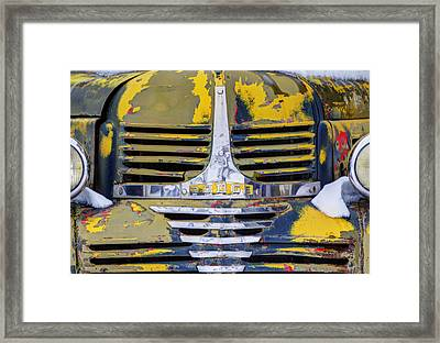 Cold And Old Framed Print by Mark Kiver