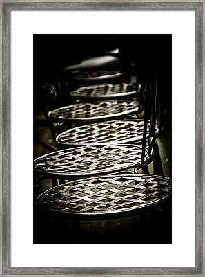 Framed Print featuring the photograph Cold As Ice by Russell Styles