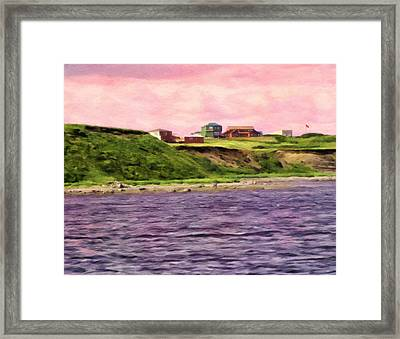 Cold Bay From The Dock Framed Print by Michael Pickett
