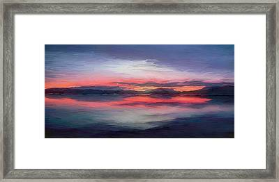 Cold Bay Framed Print by Michael Pickett