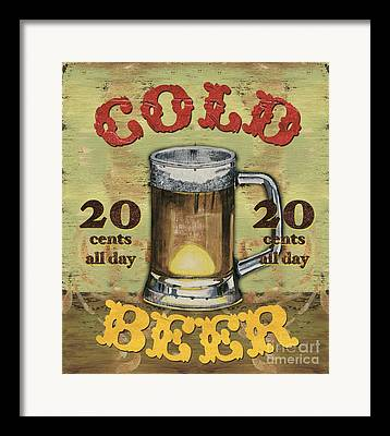 Bier Framed Prints