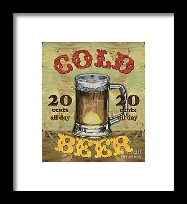 Beer Framed Prints
