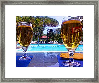 Framed Print featuring the photograph Cold Beers by Giuseppe Epifani
