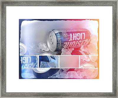 Cold Brew Framed Print by Jeremiah Colley