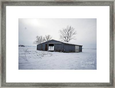 Cold Desolation Framed Print by Luther Fine Art
