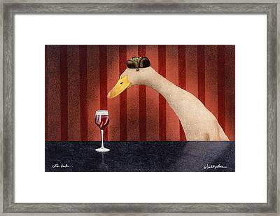 Cold Duck... Framed Print by Will Bullas