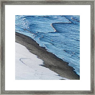 Cold Earth Framed Print by Stelios Kleanthous