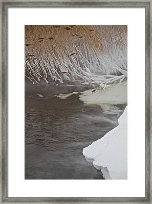 Cold Fills The Void Framed Print by Odd Jeppesen