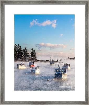 Cold Harbor Framed Print by Benjamin Williamson