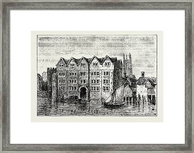 Cold Harbour. London, Uk Framed Print by Litz Collection