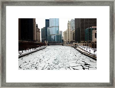 Cold In Color Framed Print by Joanna Madloch