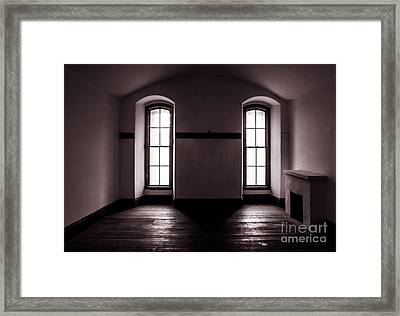 Cold Light Framed Print by Mitch Shindelbower