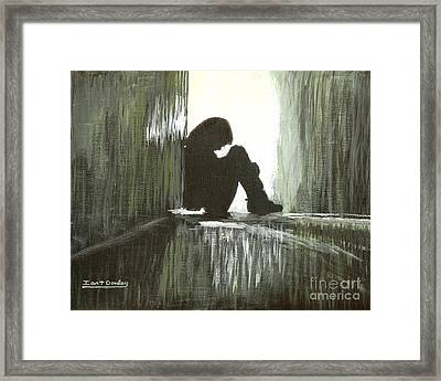 Cold Light Of Day Framed Print