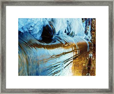 Cold Meets Warm Framed Print by Sharon Costa