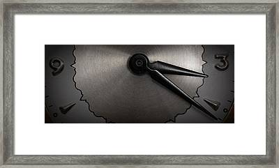 Framed Print featuring the photograph Cold Metal by Michael Dohnalek