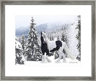 Cold Mountain Framed Print by Terry Kirkland Cook
