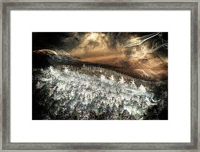 Cold Mountain Framed Print