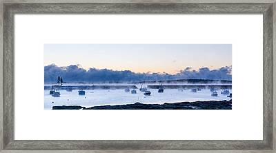 Cold New England Day  Framed Print