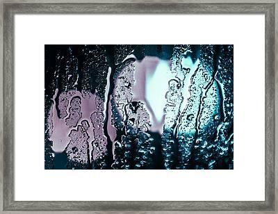 Cold Rain Framed Print by Jason Little