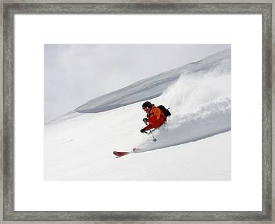 Cold Smoke Framed Print