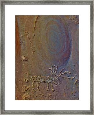 Cold Springs Rock Art Framed Print