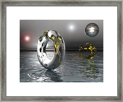Cold Steele Framed Print
