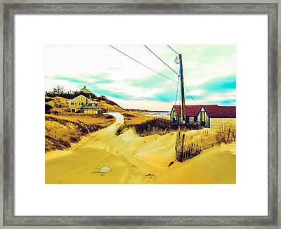 Cold Storage Beach / Truro, Cape Cod, Ma.  Framed Print by Jeremy Drew Morgan