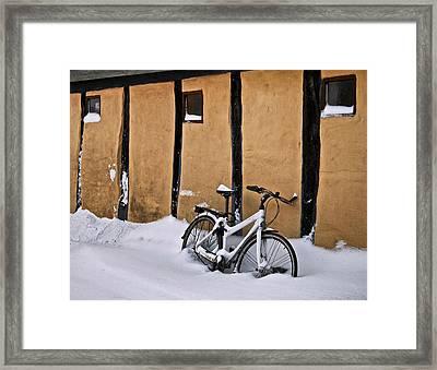 Cold Storage Framed Print by Odd Jeppesen