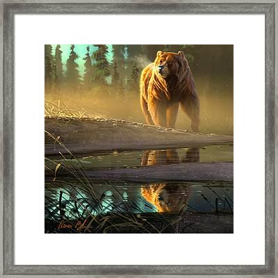 Cold Sunrise Framed Print by Aaron Blaise