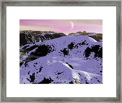 Cold Sunset Framed Print by Robert Duvall
