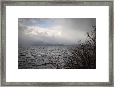 Cold Tahoe Framed Print