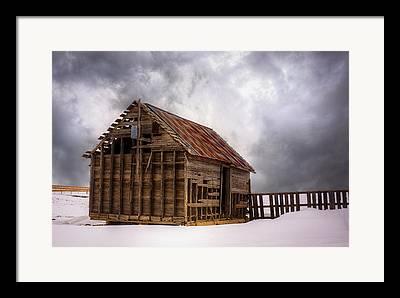 Snowpocalypse Framed Prints