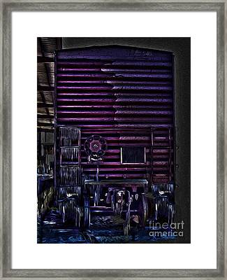 Cold Train Framed Print by R McLellan
