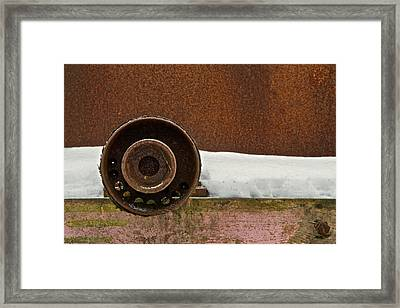 Cold Vein Framed Print by Odd Jeppesen