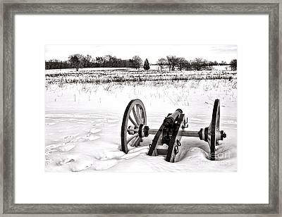 Cold War Framed Print by Olivier Le Queinec