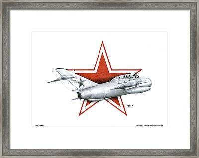 Cold War Relic Framed Print by Trenton Hill