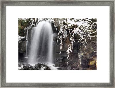 Cold Water Rush Framed Print by David Birchall