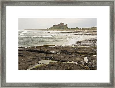 Cold Waves Of Northumberland Framed Print
