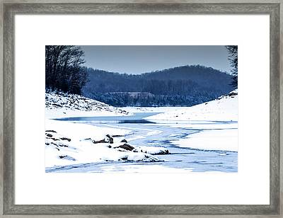 Cold Winter Day Framed Print