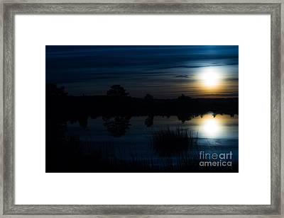 Cold Winter Morning Framed Print